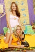Two lesbian teenagers trying their big dildos on…