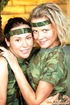 Two lesbian army teenagers toying eachothers tight…