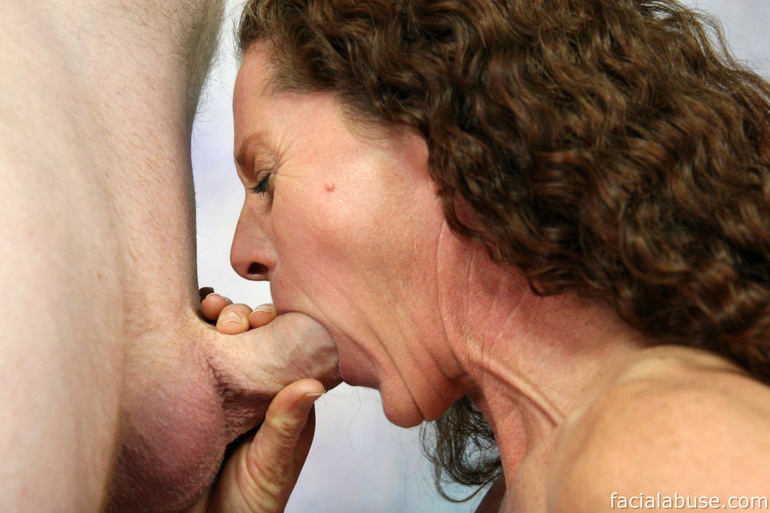 throat tube Busty abuse