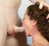 Dumb MILF whore Melanie gets her asshole drilled