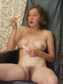 Hairy ladies - Busty babe totally naked - Picture 9
