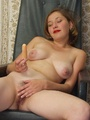Hairy ladies - Busty babe totally naked - Picture 20
