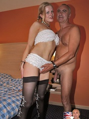 Panty hose porn - Filthy British slut gets - XXX Dessert - Picture 6