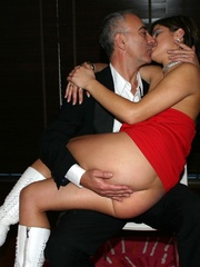 Stocking legs - Cigar smoking British slut - XXX Dessert - Picture 6