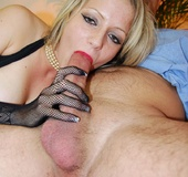 British stocking slut fucked by the old and dirty&hellip;