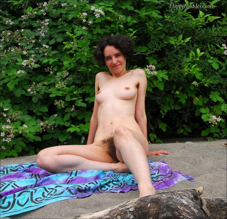 Hairy pussy cuties - Mature, Hairy Hippie with very full bush/treasure -