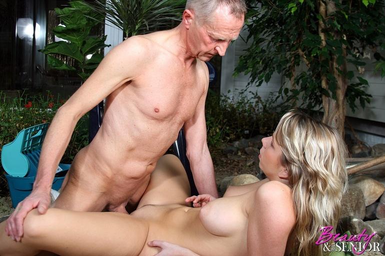молодые со стариками фото порно