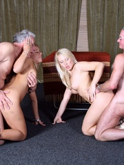 Teen porn girls - Two blonde beauties - XXX Dessert - Picture 9