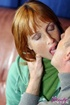 Beautiful redhead gets stiff cock inside her tight…