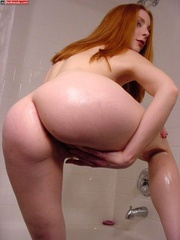 Red head galleries - Redhead with hairy - XXX Dessert - Picture 7