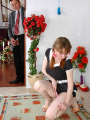 Old young sex - Cute ponytailed girl caught - XXX Dessert - Picture 3