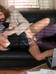 Old men fucking young girls - Leggy - XXX Dessert - Picture 17