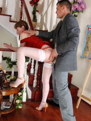 Old having sex with young - Pigtailed - XXX Dessert - Picture 19