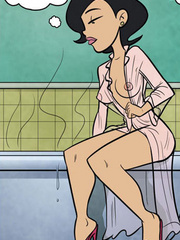 Sex toons - Ahhhh! I so needed this... - Cartoon Porn Pictures - Picture 4