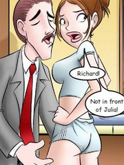 Comic porn - I came to fuck my favorite girl! - Cartoon Porn Pictures - Picture 5