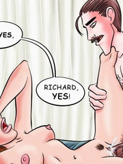 Comic sex galleries - Oh Richard! You're - Cartoon Porn Pictures - Picture 5