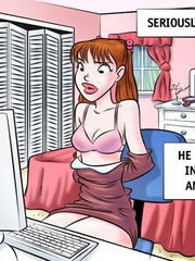 Comics sex - Come on girl! Open wide! - Cartoon Porn Pictures - Picture 3