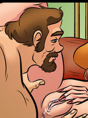 Comic sex gallery - Let's go to the bedroom.. - Cartoon Porn Pictures - Picture 3