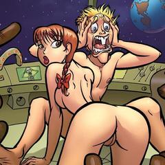 Comic porn pics - Big cock fuking Rita Mae - Cartoon Porn Pictures - Picture 1