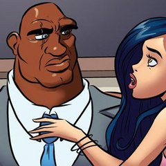Cartoonsex - Big black dick wants to fuck her - Cartoon Porn Pictures - Picture 6