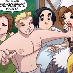 Porn comix - Real man fucks girl in school - Cartoon Porn Pictures - Picture 3