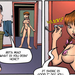 Free erotic comics - Rita Mae will see a big - Cartoon Porn Pictures - Picture 3
