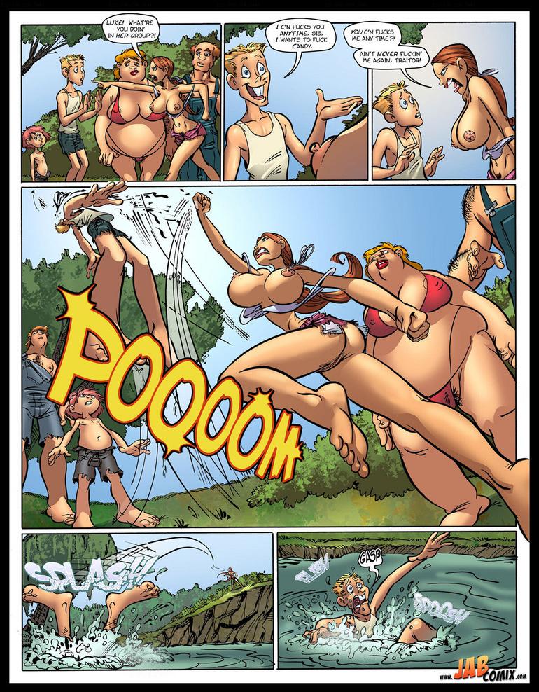 порно комиксы родственники