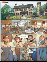Comics for adults - Housewives who walk in - Cartoon Porn Pictures - Picture 2