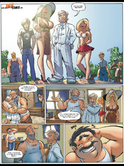 Comics for adults - Housewives who walk in - Cartoon Porn Pictures - Picture 3
