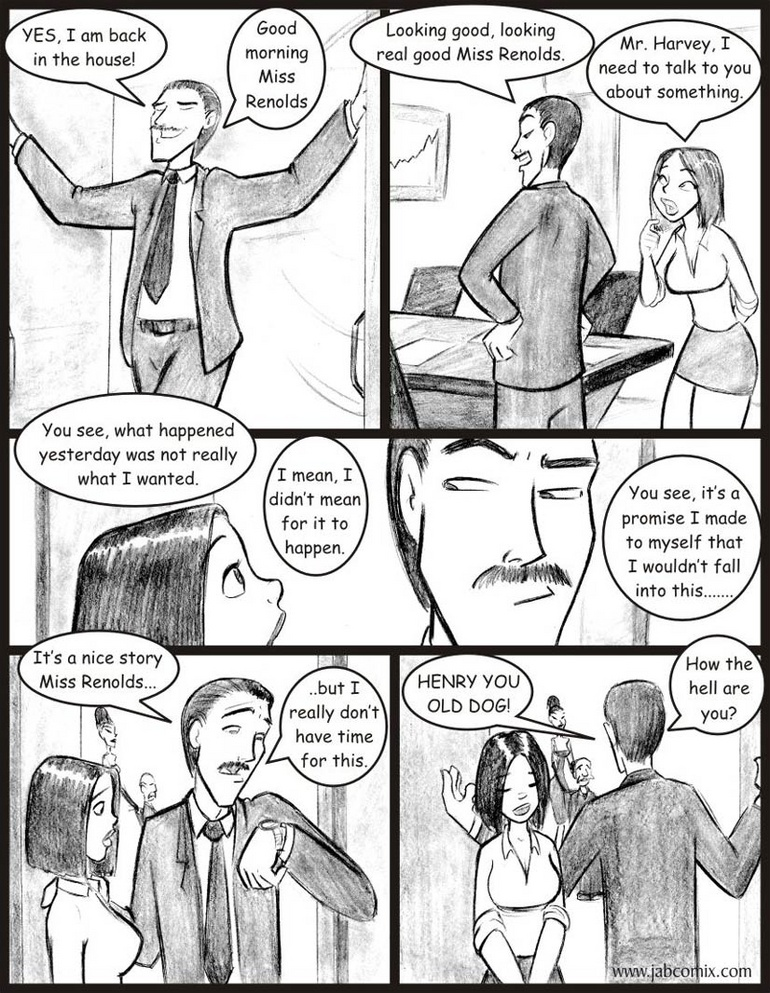 Porn comix - I know all about you - Cartoon Porn Pictures - Picture 3