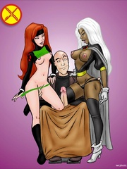 Comic porn - X-men are really horny! - Cartoon Porn Pictures - Picture 1