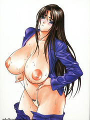 Anime chicks in sexy lingerie! - Erotic comics free
