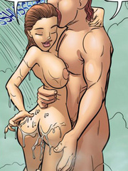 Sex comics - Oh my dod, dad nutted on me! - Cartoon Porn Pictures - Picture 6