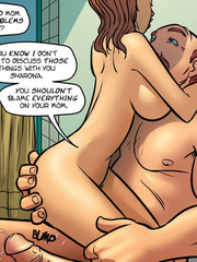 Adult comic pictures - Daddy fucks mommy - Cartoon Porn Pictures - Picture 4