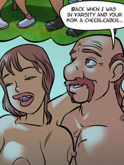 Adult comic pictures - Daddy fucks mommy - Cartoon Porn Pictures - Picture 5