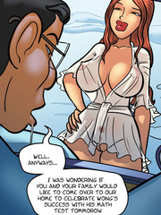 Comic sex pics - Anime chick have great tits - Cartoon Porn Pictures - Picture 4