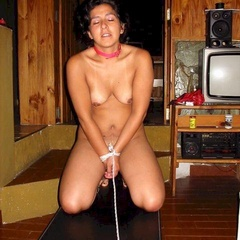 Ballgagged and restrained for her husband - Unique Bondage - Pic 1