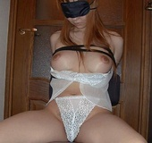 Hot bitches ballgagged and covered in spunk