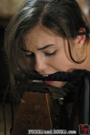Sasha Grey is a hot little 19 year old slut - Unique Bondage - Pic 12