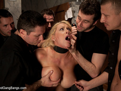 Candy Manson is helplessly bound in duct - Unique Bondage - Pic 3
