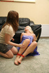 Donna humilated and tied by Shell