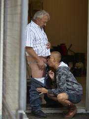 Old men fucking young girls - Summer Job - XXX Dessert - Picture 5