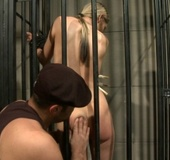 Antonio takes prisoner for hardcore BDSM plays