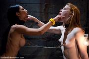 roped blindfolded slave girls