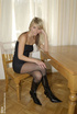 Blonde cute and shy Gina loves to dress like a…