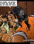 Sado cartoons. Row harder, you slaves! Or you'll…