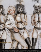 Torture drawings. Madame Whipcord's father is back…