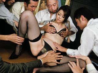 lusty japanese nymph black