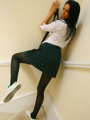 Fabulous Felix in cute college uniform with - XXX Dessert - Picture 9