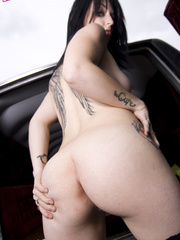 Goth whore Dravens trips in a hearse - XXX Dessert - Picture 15